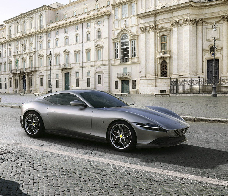 The Ferrari Roma Is a Seriously Sexy Italian Stallion