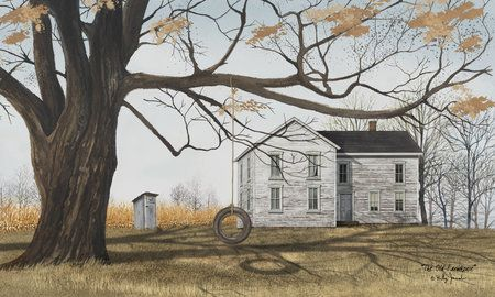 The Old Farmhouse Billy Jacobs He Is A Great Painter Of