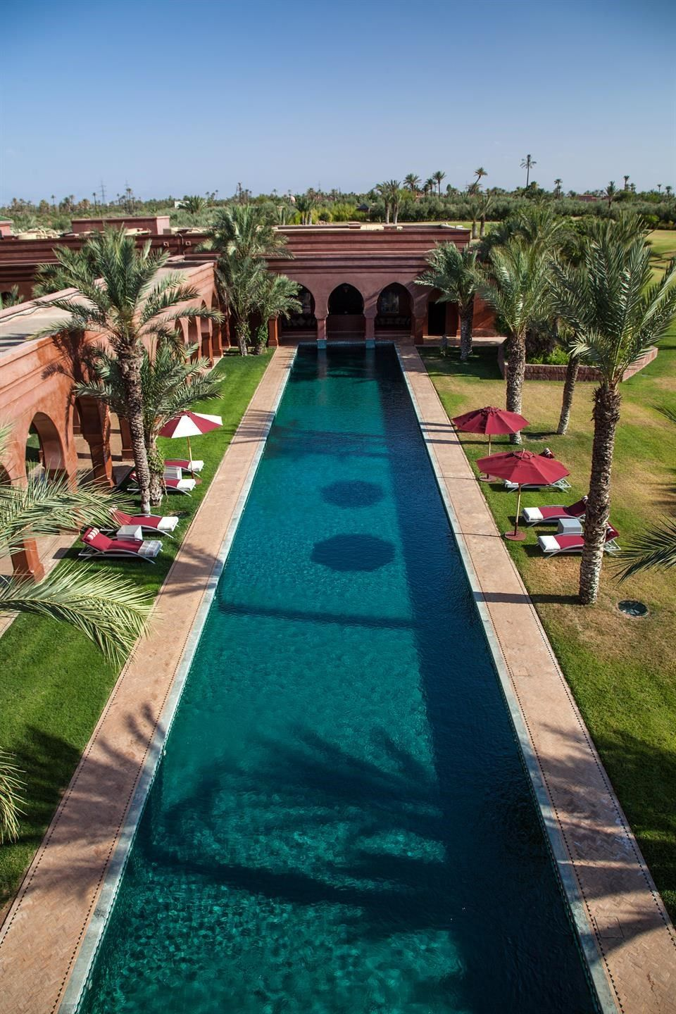 Luxury Home Swimming Pools dar olfa, a luxury home for sale in marrakech, marrakech