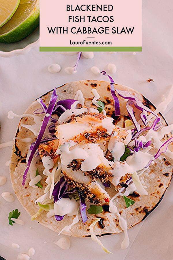 Fish Tacos Recipe #cilantrolimeslaw