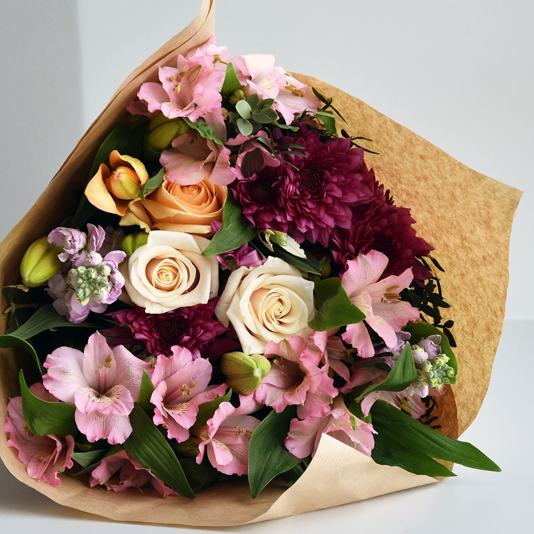 Bouquet Romantique Jardin D Eden Aquarelle Com Livraison