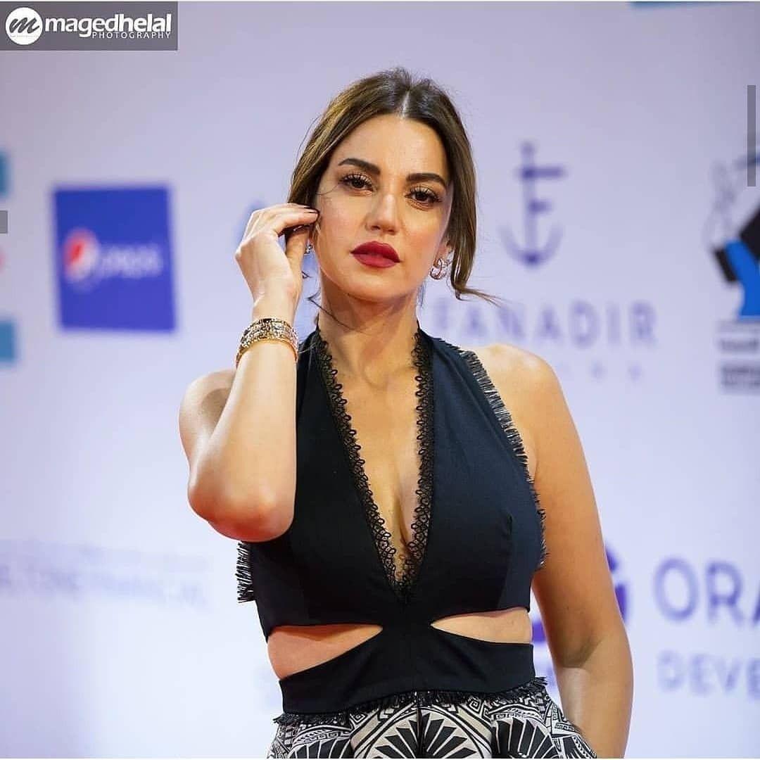 Dorra From El Gouna Film Festival 2019 Instagram Fashion Celebrity Style Style