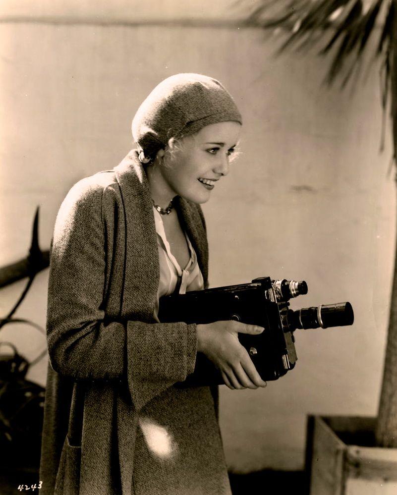 Joan Marsh on the MGM lot c.1931