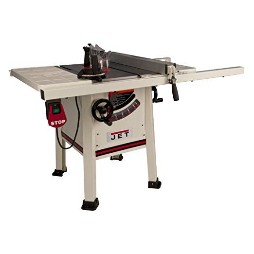 Jet 708492k Jps 10ts 10 Inch Proshop Tablesaw With 30 Inch Fence Steel Wing And With Riving Knife Home Made Table Saw Craftsman Table Saw Diy Table Saw