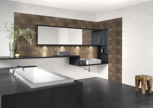 #Badezimmer Badezimmer Farbe   24 Wand Ideen In Zwei Farben #Badezimmer