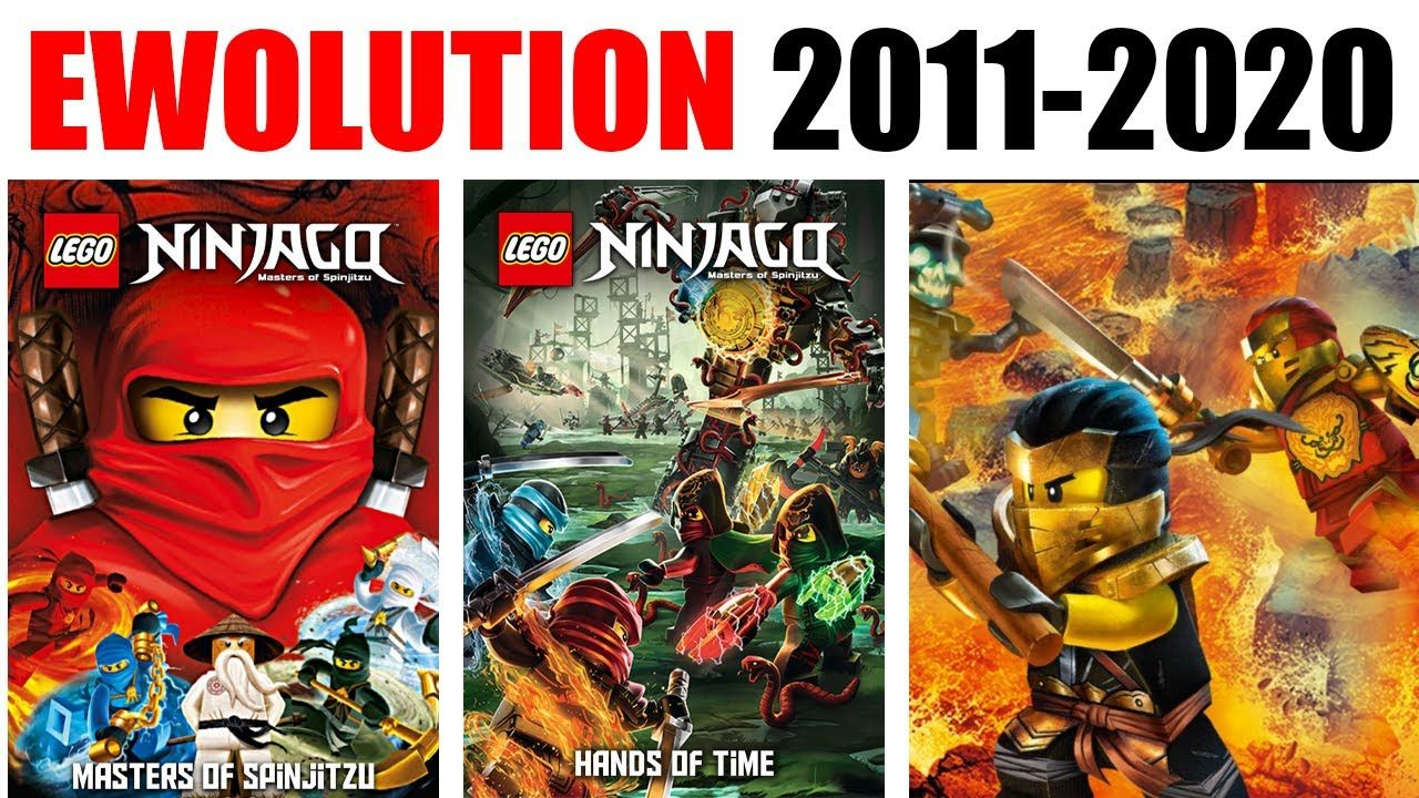 All Lego Ninjago Posters Evolution In 2020 All Lego Lego Ninjago Ninjago