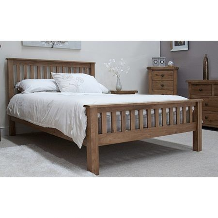 Rustic Solid Oak Furniture 4 6 Double Bed