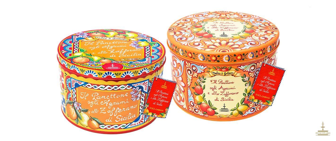 Fiasconaro Agrumi E Zafferano Di Sicilia X D G Cute Packaging