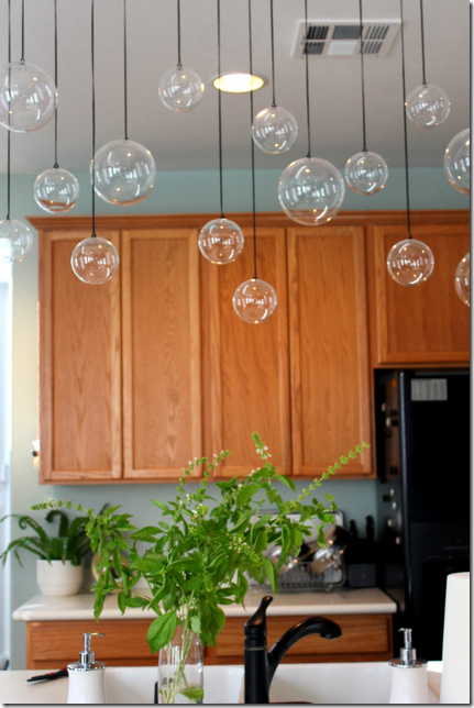 """Do It Yourself Home Design: Glass Ball """"fixture"""" From Cb2"""