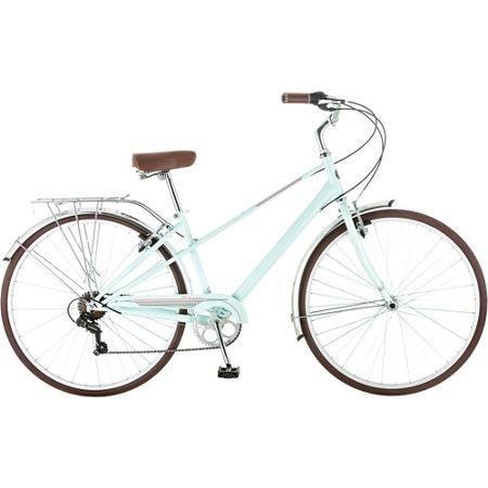 white 7-speeds Schwinn Admiral hybrid bike 700c wheels