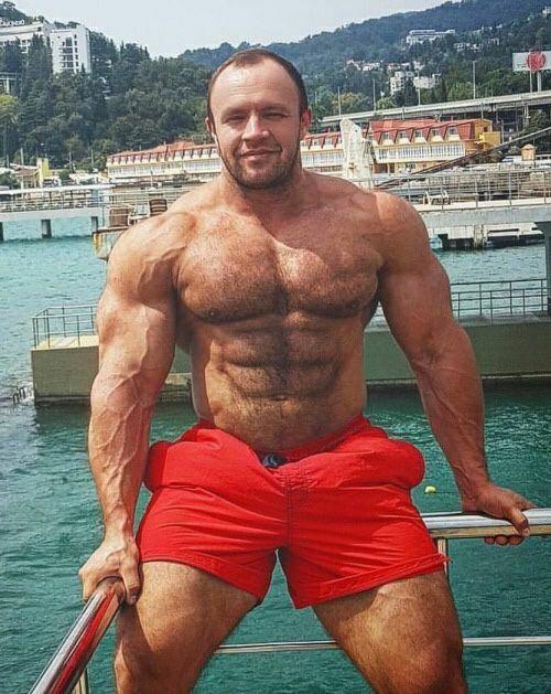 Gay bodybuilder worship