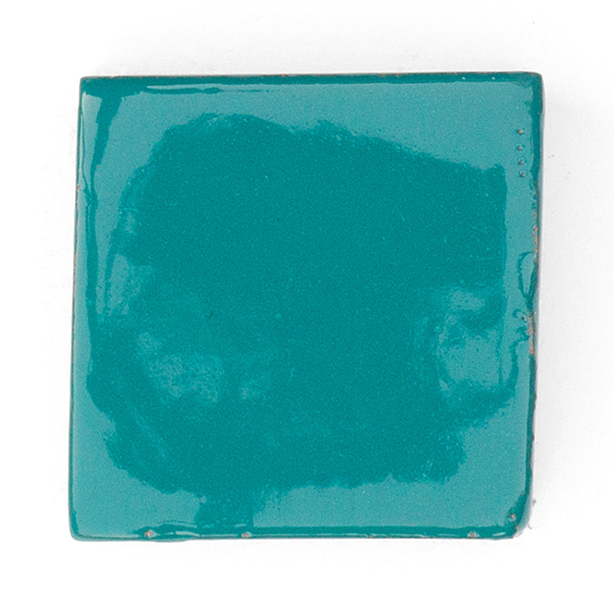 Teal g26 handmade ceramic tile by tiledesire available in teal g26 handmade ceramic tile by tiledesire available in different sizes and dailygadgetfo Image collections