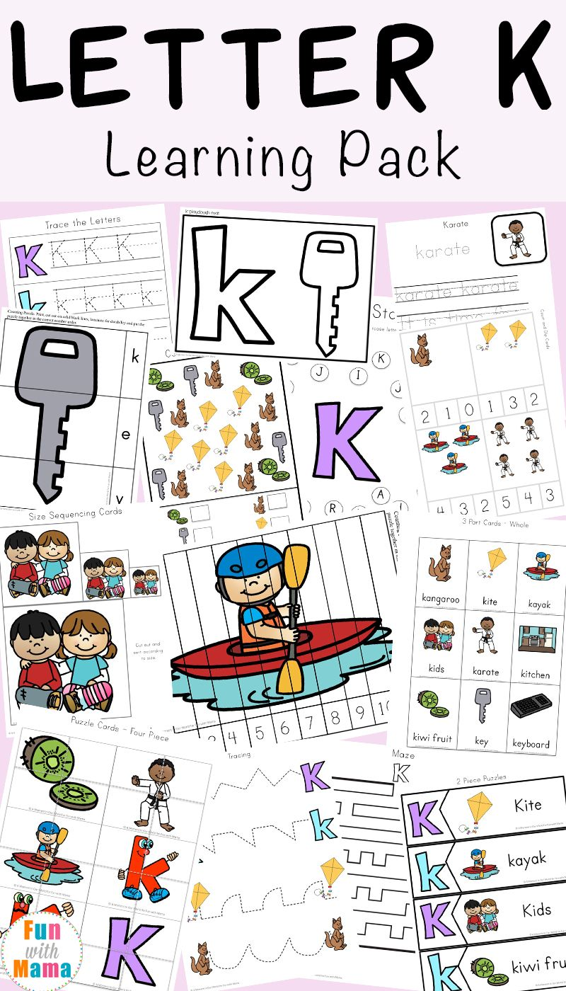 free printable letter k activities worksheets crafts and learning pack worksheets for homeschooling pre school worksheets alphabet letter worksheets