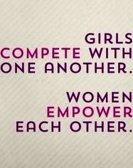 Girl Compete Women Support Power Quote Empowerment Words Essay On Impowerment