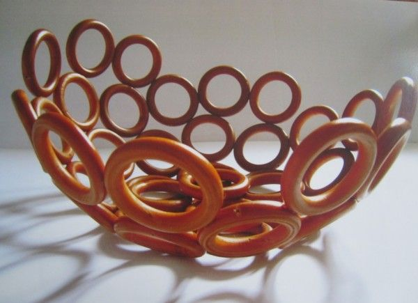 wooden curtain ring bowl curtain