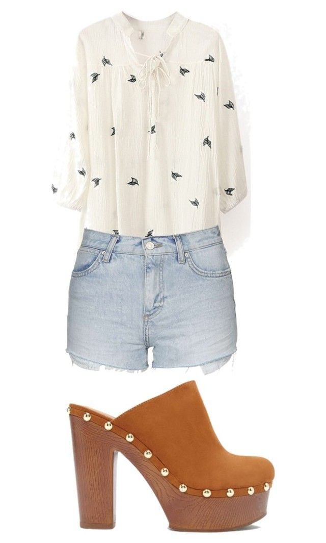 """""""ete"""" by sisiassia on Polyvore featuring Topshop, Forever 21, women's clothing, women, female, woman, misses and juniors"""