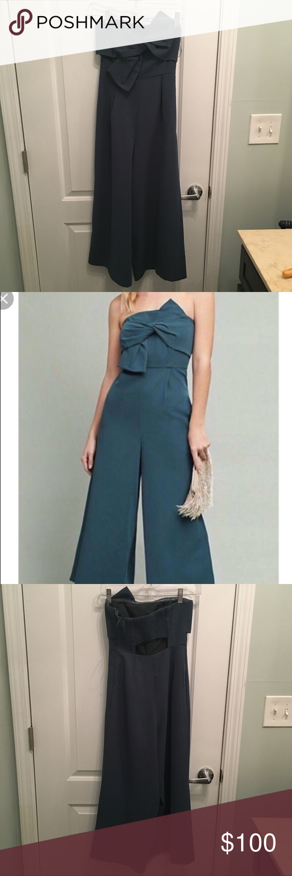 67db28aaeada ANTHROPOLOGIE Hailee C Jumpsuit - Green WORN ONCE! This jumpsuit is in  perfect condition