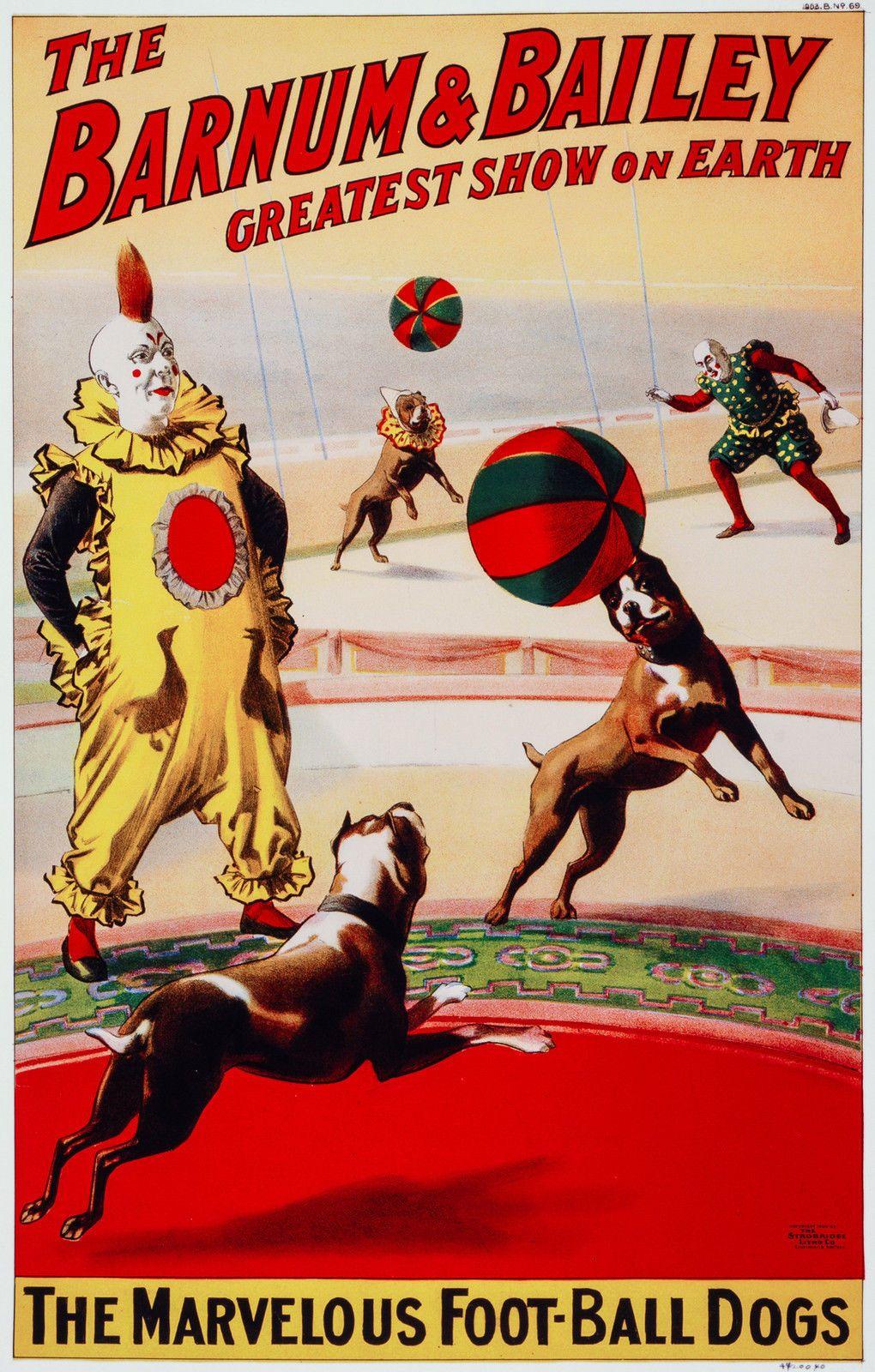 Barnum & Bailey Circus 3, Old Vintage Ad, Magic, Antique ...