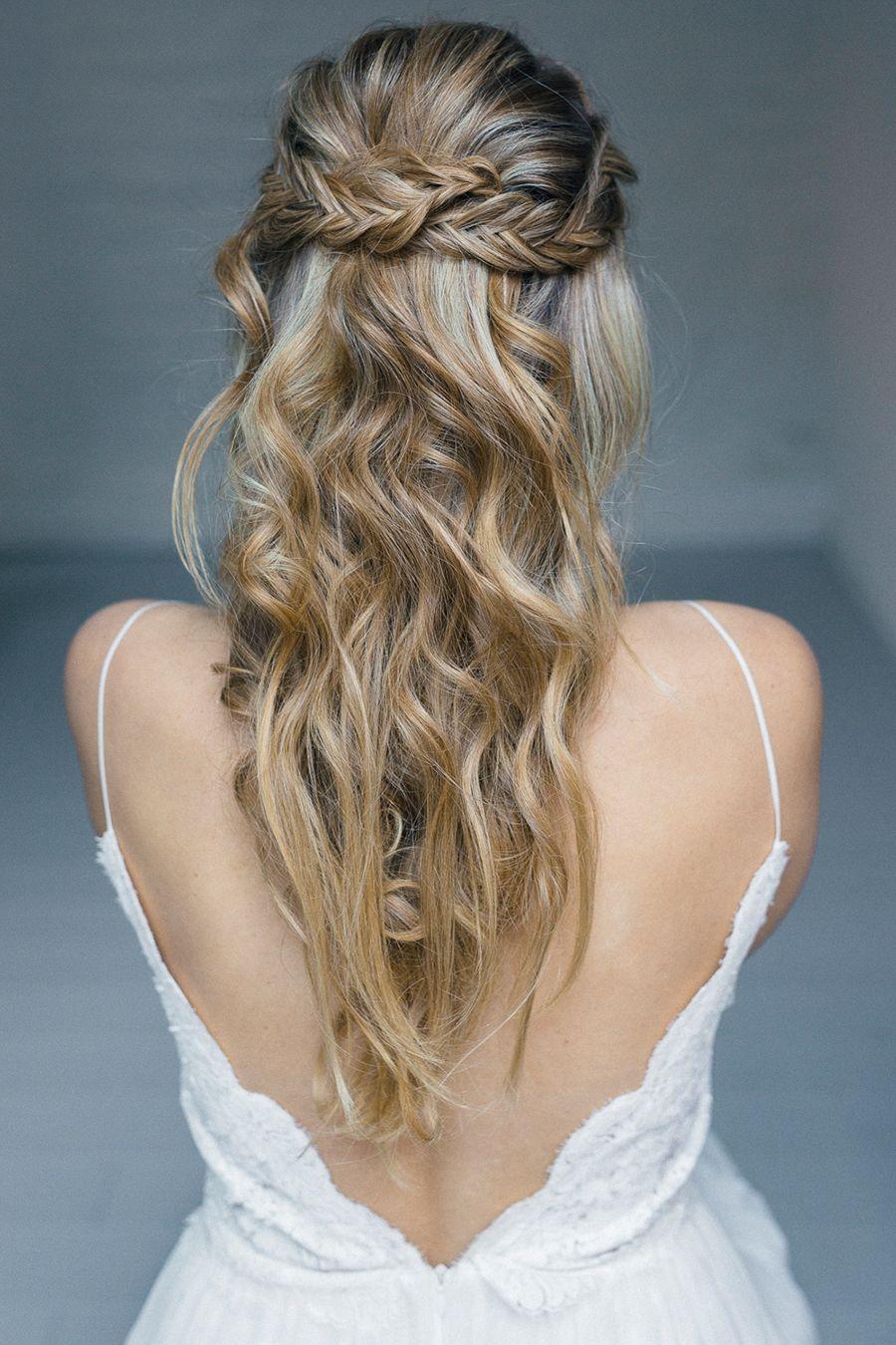 Brautfrisuren für lange Haare  Frisur trauzeugin, Frisuren lange