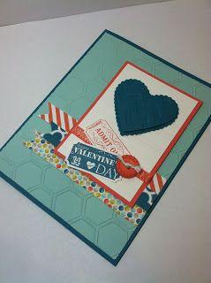 Sunday, January 20, 2013January Stamp Club Project #2