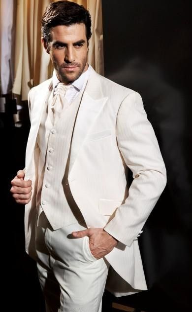 Latest Coat Pant Designs Beige Tailcoat Italian Formal Custom ...