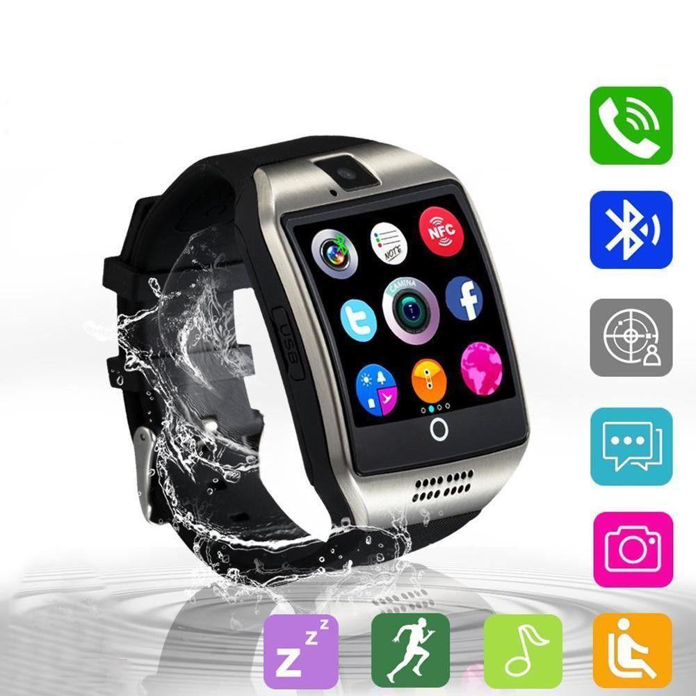 399 q18 touch screen smart watchwrist bluetooth sim