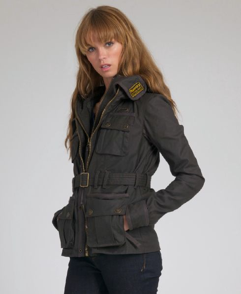 New Womens Superdry Blackhawk Jacket