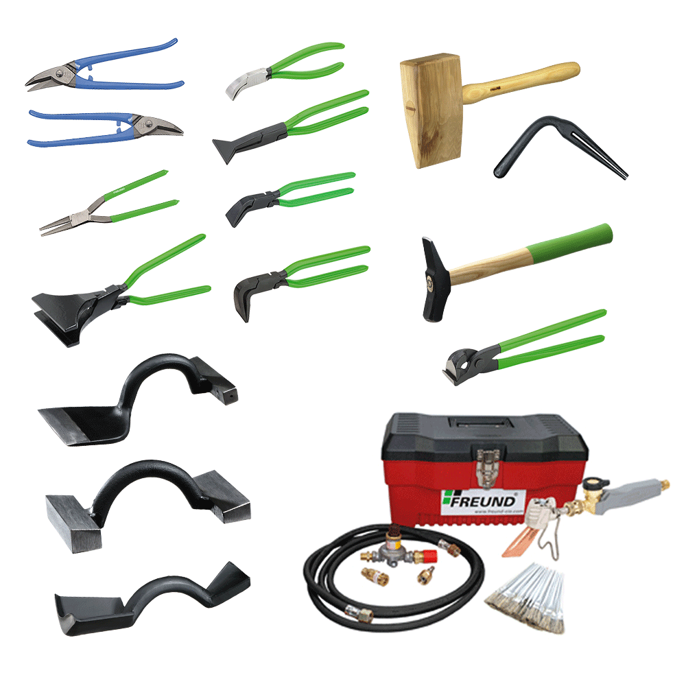 Coppersmith's Roofing Tools Set Roofing tools, Craftsman