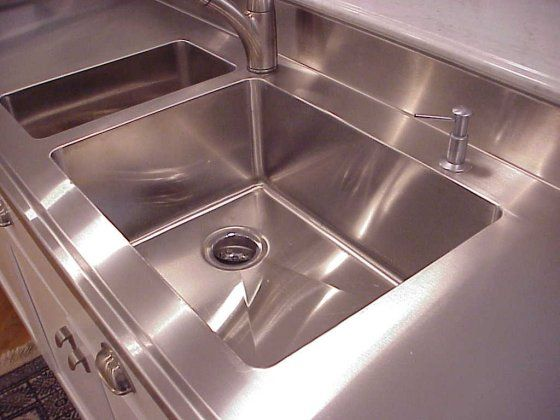 Quality Handcrafted Stainless Steel Countertops Stainless Steel