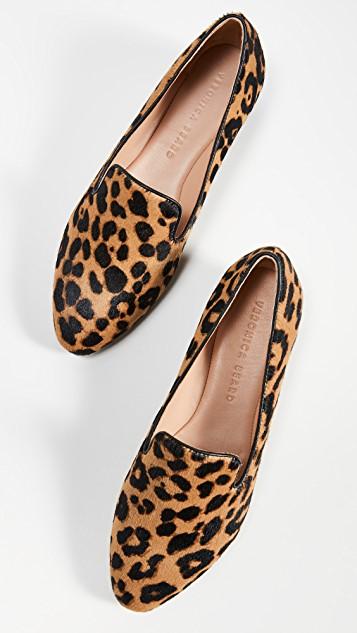 veronica beard griffin loafer leopard