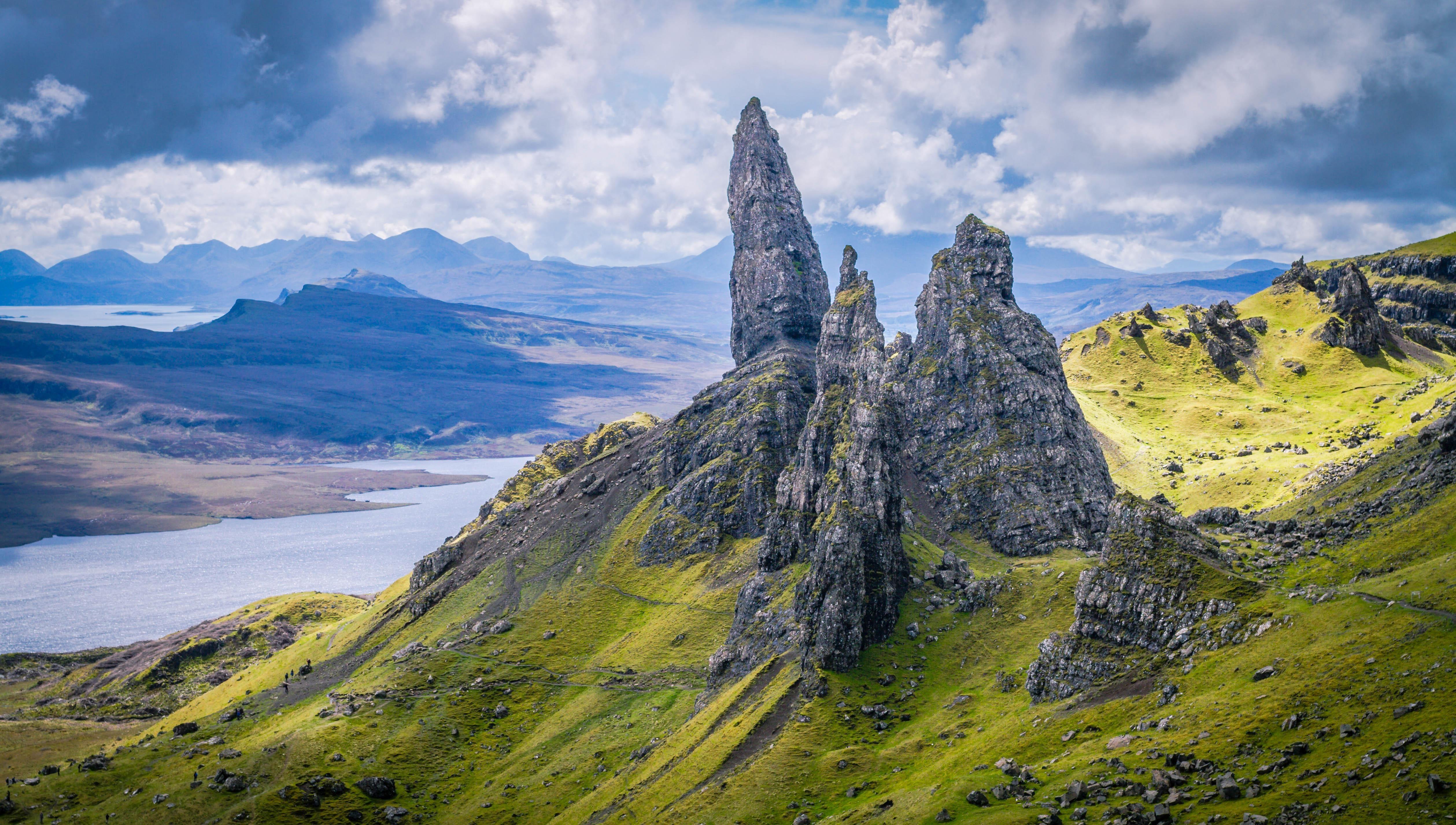 Old Man Of Storr Isle Of Skye Scotland Hd Wallpaper From