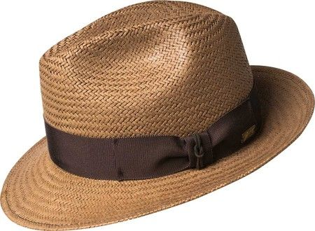 4a0ce11233d Bailey of Hollywood Crampton Fedora 5004B - Coconut with FREE Shipping    Exchanges. With a classic center dent crown and a snap brim