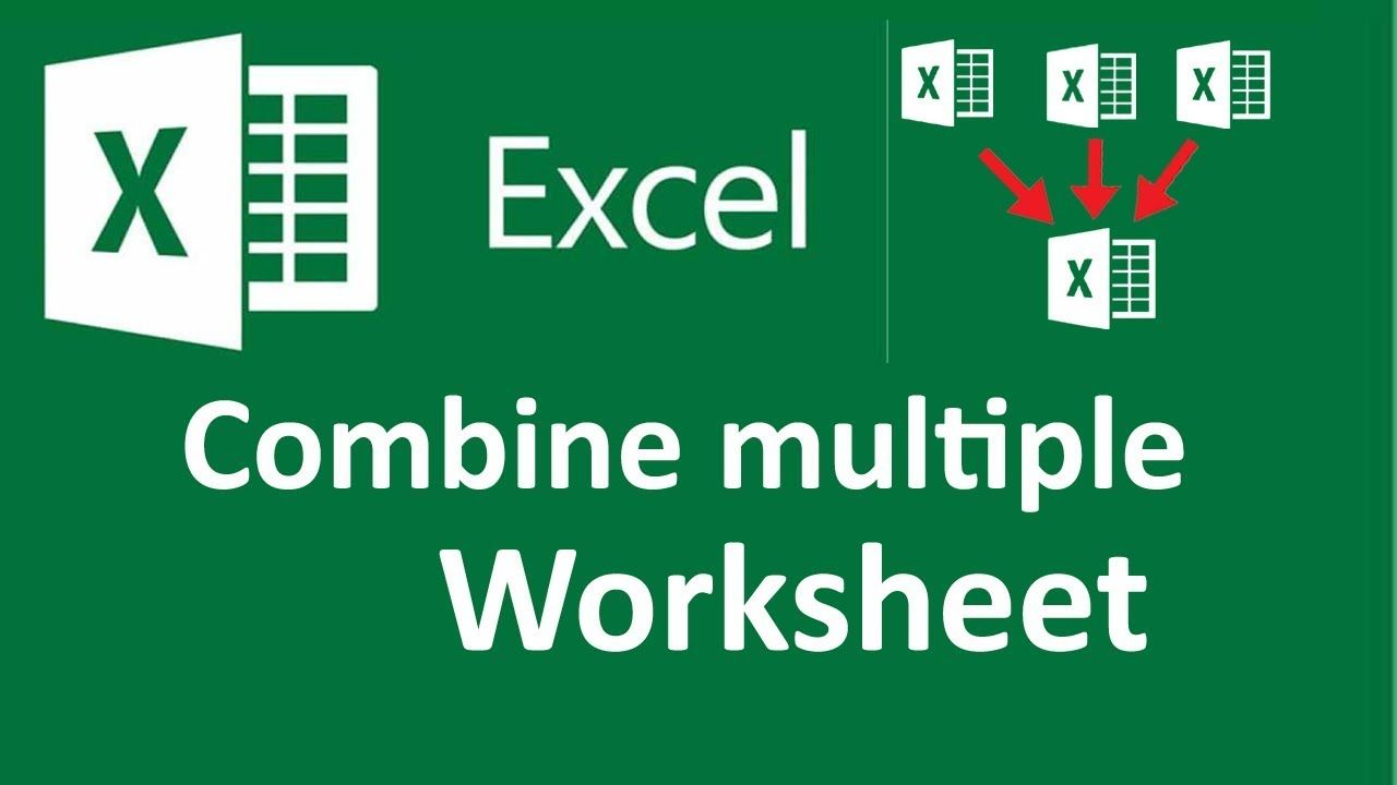 32+ Merge worksheets in excel Top