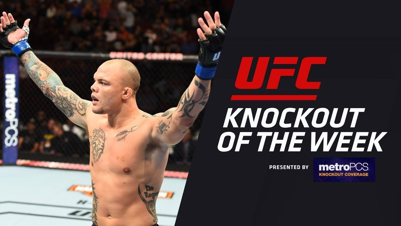 Ko Of The Week Anthony Smith Vs Rashad Evans Anthony Smith Knocked