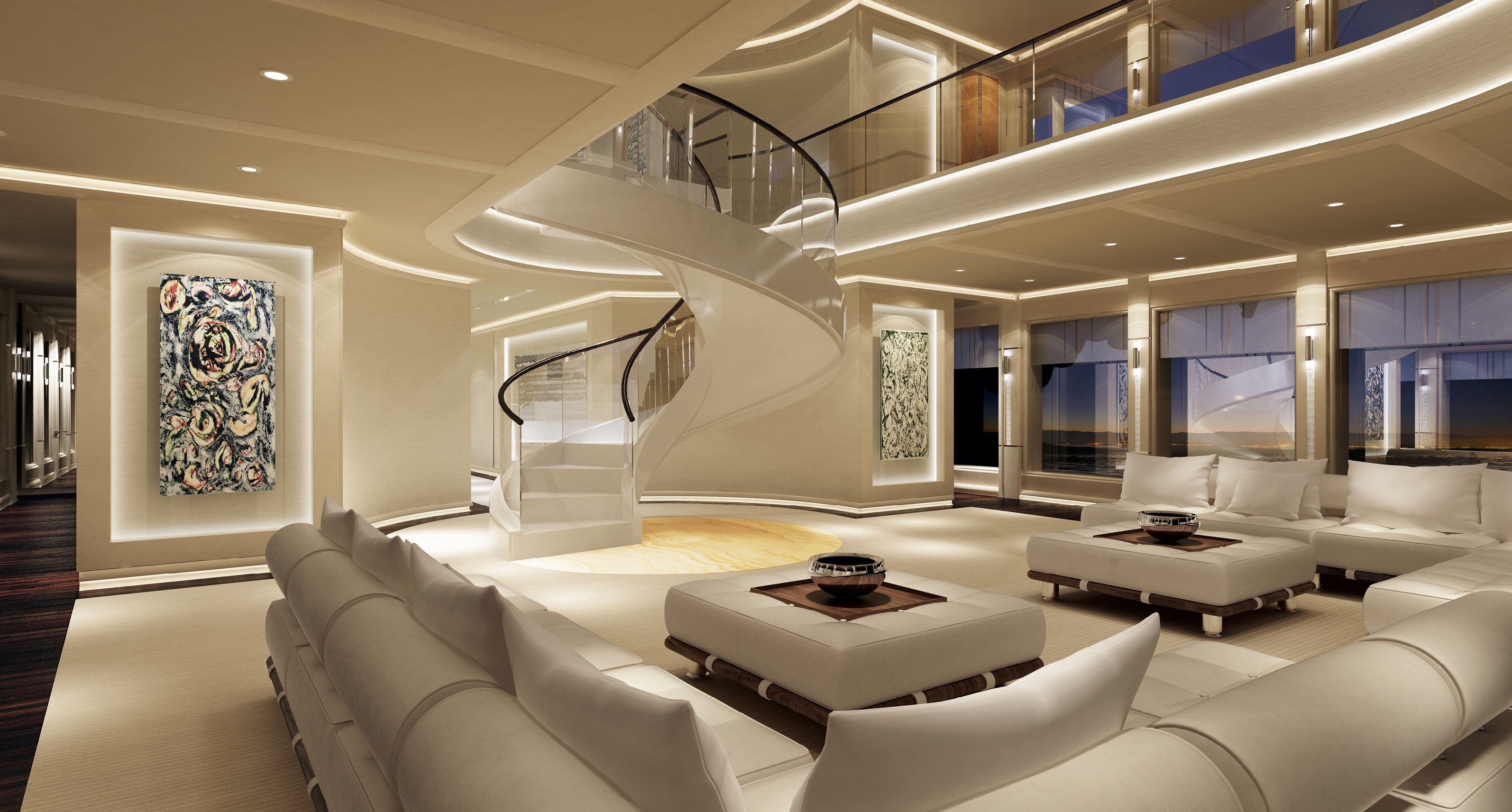 interior design sinot exclusive yacht design bateaux. Black Bedroom Furniture Sets. Home Design Ideas