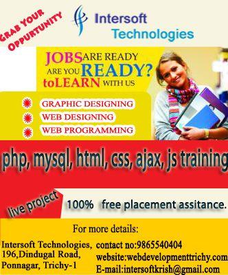 Intersoft Technologies Email Intersoftkrish Gmail Com Ph 9865540404 Website Http Webdevelopmenttrichy Web Design Digital Marketing Company Web Programming