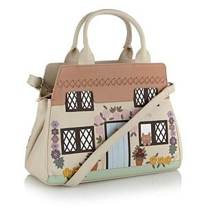 Ciccia Natural Country Cottage Grab Bag Hand Held Bags Handbags Purses Women Debenhams Mobile