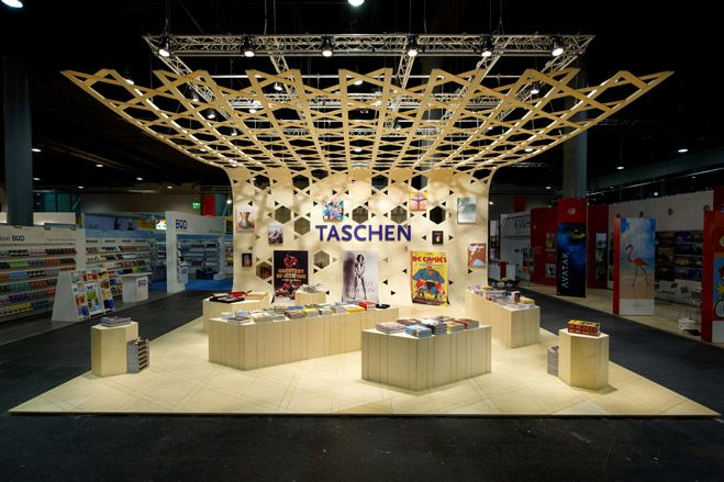 Exhibition Stand Wallpaper : Taschens booth at frankfurt book fair art wallpaper* magazine