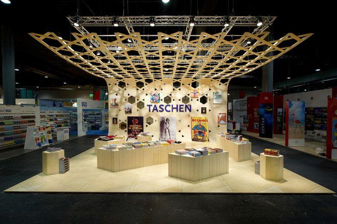 Exhibition Stand Book : Taschen s booth at frankfurt book fair art wallpaper magazine
