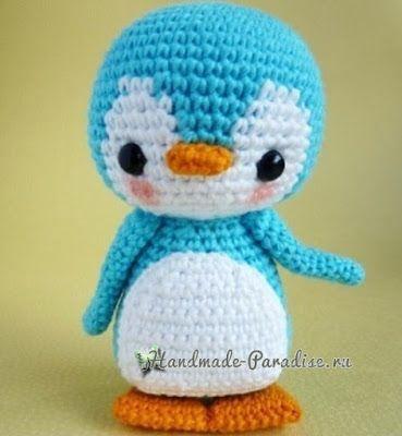 пингвин амигуруми 200 схем амигуруми на русском игрушка