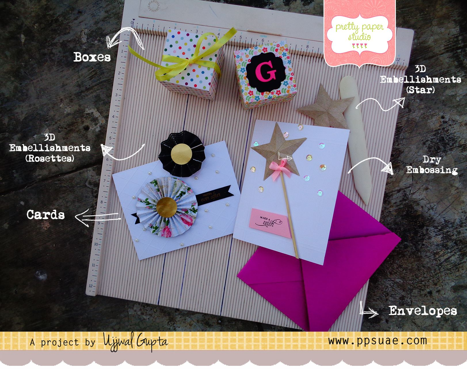 Six Different Projects Using Martha Stewart Scoring Board   Ujjwal ...