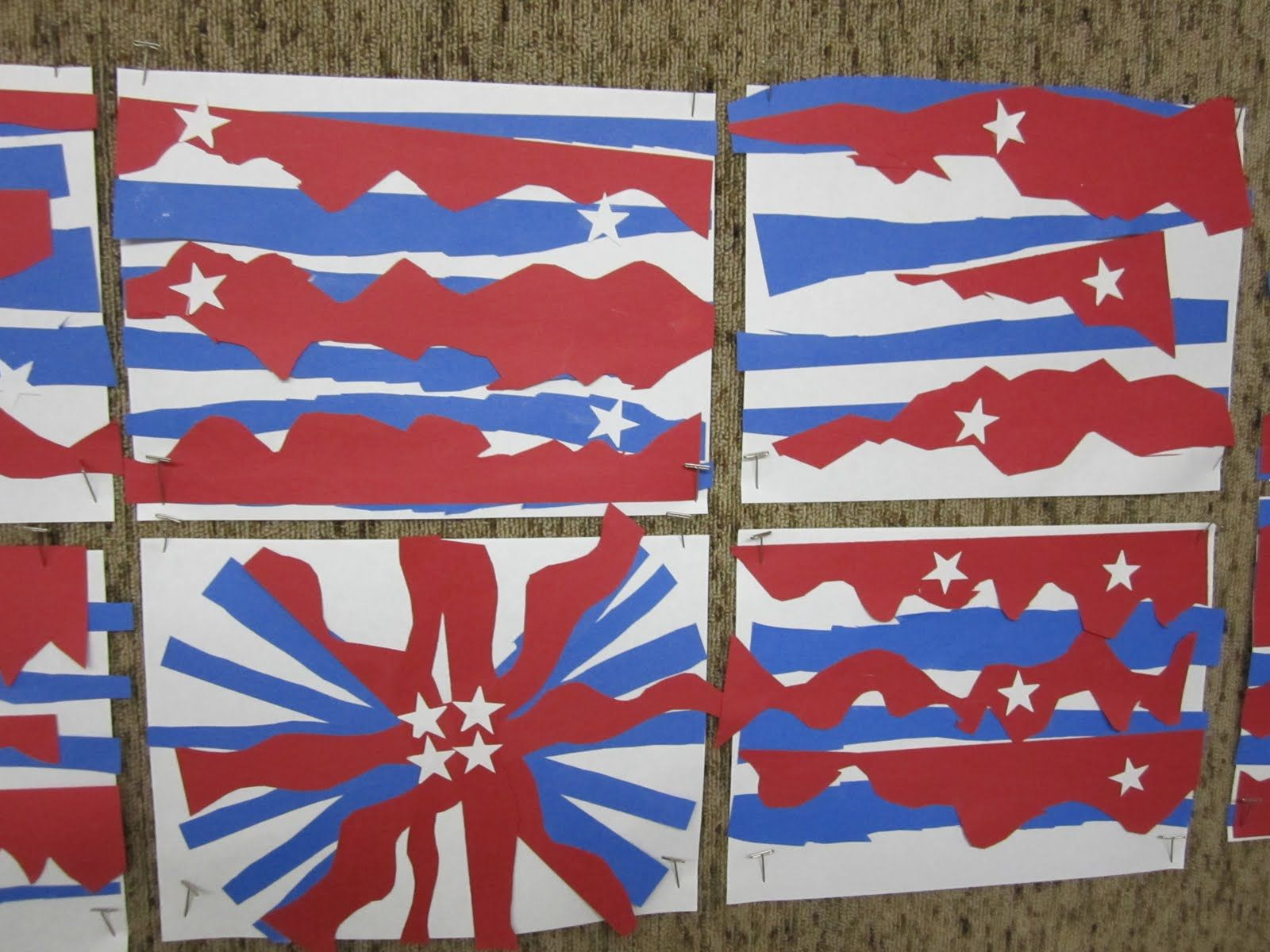 kindergarten red white and blue