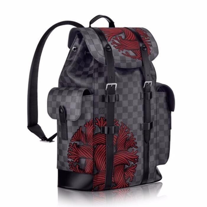 5b28f96b1c40 Louis Vuitton Damier Graphite Christopher PM M41709 Size  41.0 x 47.0 x  13.0 cm