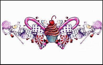 Inspiration Cupcake Tattoos Candy Tattoo Cupcake Tattoo Designs