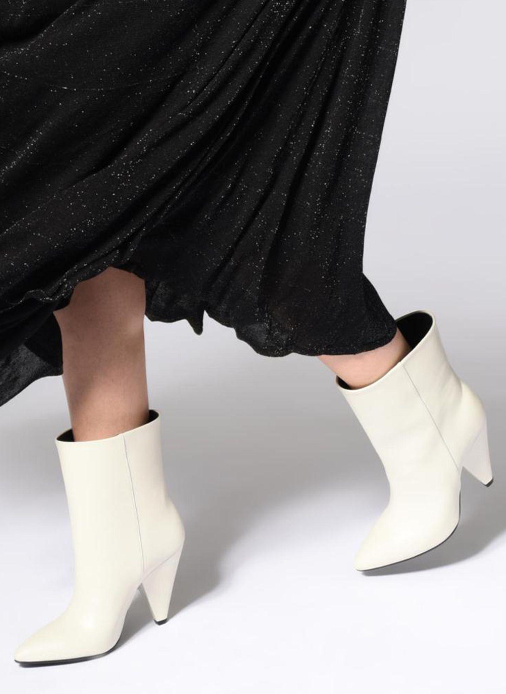 9bd5b13f6e1 Essentiel Antwerp Sluik boots (Wit) - Boots en enkellaarsjes chez Sarenza  (355119)