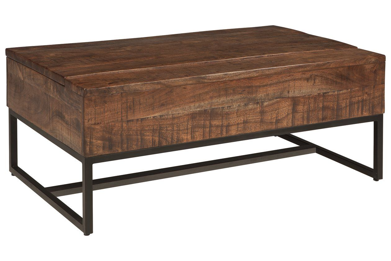 Hirvanton Coffee Table With Lift Top Ashley Furniture Homestore Lift Top Coffee Table Coffee Table Brown Coffee Table [ 840 x 1260 Pixel ]