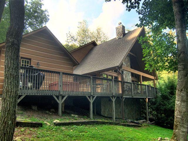 Almost Heaven Valle Crucis Nc Log Cabin Rental Nc Cabin Rentals Log Cabin Rentals Cabin Vacation
