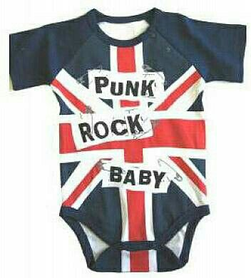 * Punk Rock Baby onesie