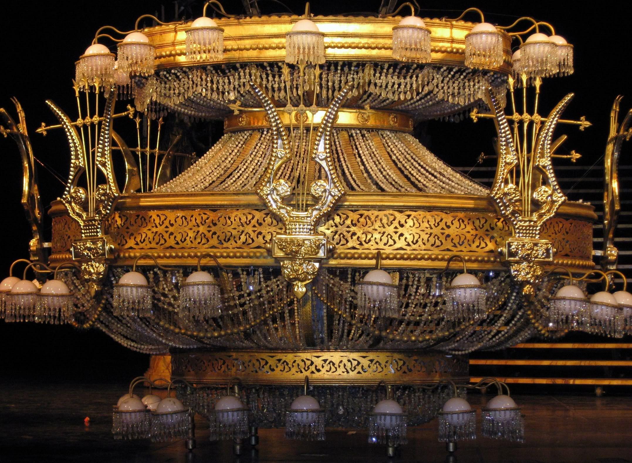 Paris Opera House Chandelier The Phantom Of Broadway S Longest Running Show