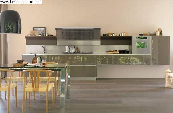 VENETA CUCINE ante laccato lucido maniglia go | Arredamento Cucina ...